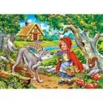 Puzzle  Castorland-070015 Rotkäppchen