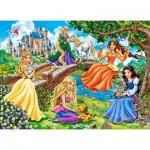 Puzzle  Castorland-070022 Princesses in Garden