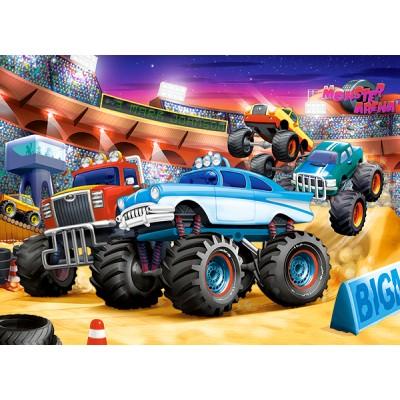Puzzle  Castorland-070077 Monster Truck Show
