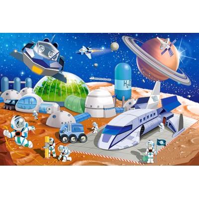 Castorland-08521-KO1 Mini Puzzle - Weltraumforschung