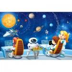 Castorland-08521-KO3 Mini Puzzle - Weltraumforschung