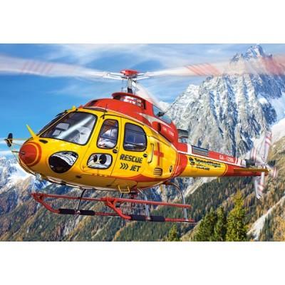 Castorland-08521-LO2 Mini Puzzle - Hubschrauber