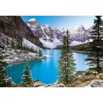 Puzzle  Castorland-102372 Kanada: Bergsee