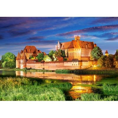 Puzzle  Castorland-103010 Schloss Malbork, Polen