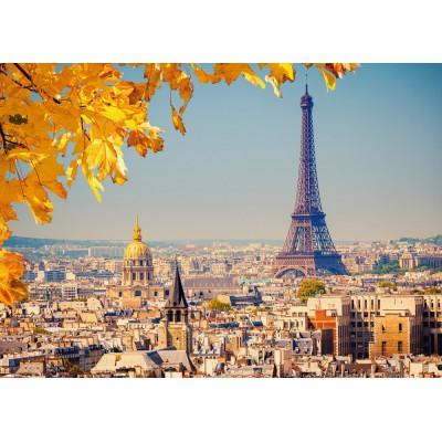 Puzzle  Castorland-103089 Herbst in Paris