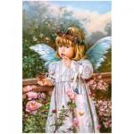 Puzzle  Castorland-103232 Schmetterlingsträume