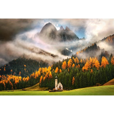 Puzzle  Castorland-103270 Die Magie der Berge