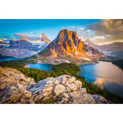 Puzzle  Castorland-103423 Assiniboine Vista, Banff National Park, Canada