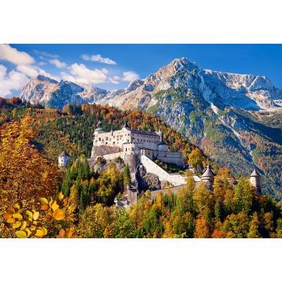 Puzzle Castorland-103454 Festung Hohenwerfen, Österreich