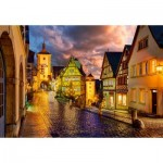Puzzle  Castorland-103461 Rothenburg at Night
