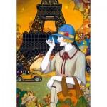Puzzle  Castorland-103591 Paris Street