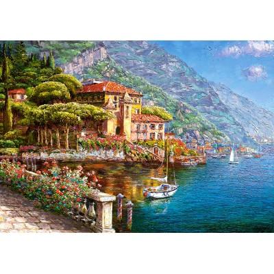 Puzzle Castorland-103676 The Abbey Bellagio
