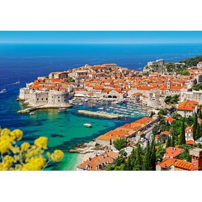 Puzzle  Castorland-103720 Dubrovnik, Kroatien