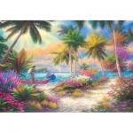 Puzzle  Castorland-103942 Isle of Palms