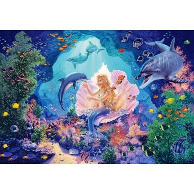 Puzzle  Castorland-103966 Pearl Princess