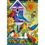 Puzzle  Castorland-104000 David Galchutt: The Backyard Gathering