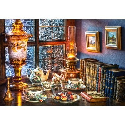 Puzzle  Castorland-104116 Afternoon Tea