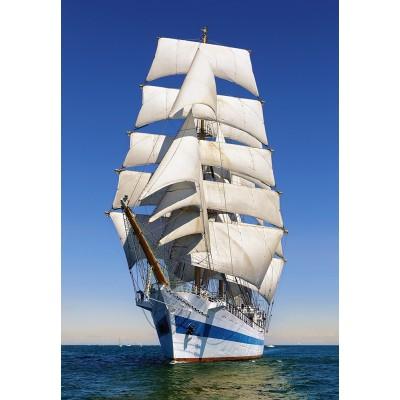 Puzzle  Castorland-104239 Under Full Sail