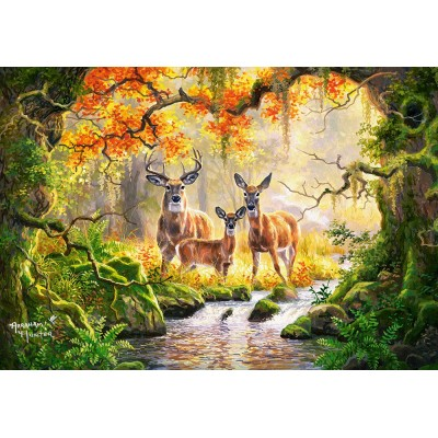 Puzzle  Castorland-104253 Royal Family