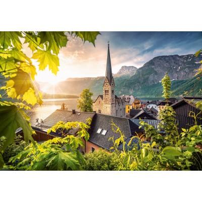 Puzzle Castorland-104543 Postcard from Hallstatt