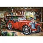 Puzzle  Castorland-104574 Vintage Garage