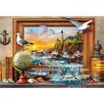Puzzle  Castorland-104581 Marine to Life