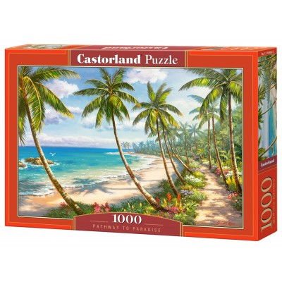 Puzzle Castorland-104666 Pathway to Paradise