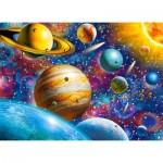 Puzzle  Castorland-111077 Solar System Odyssey