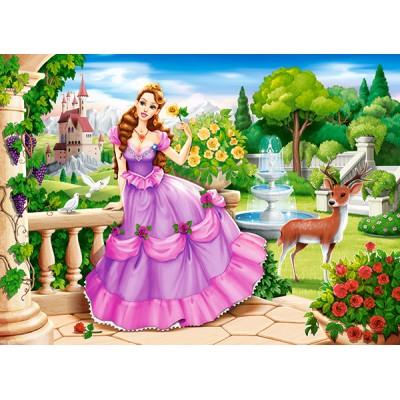Puzzle  Castorland-111091 Princess in the Royal Garden