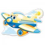 Puzzle  Castorland-120031 XXL Teile - Fröhliches Flugzeug