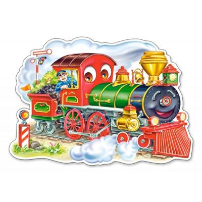 Puzzle Castorland-120055 XXL Teile - Die Lokomotive