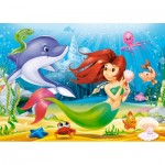 Puzzle  Castorland-13210 Little Mermaid