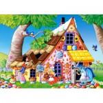 Puzzle  Castorland-13333 Hansel und Gretel