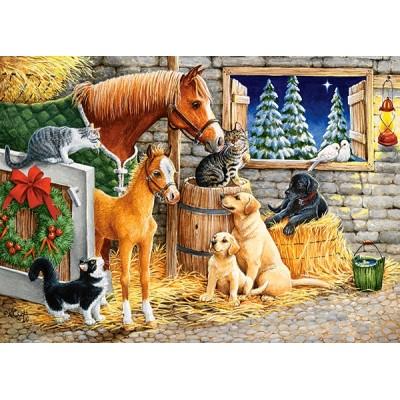Puzzle Castorland-13340 Gathering Friends