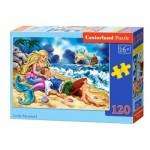 Puzzle  Castorland-13388 Die kleine Meerjungfrau