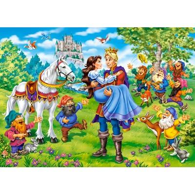 Puzzle  Castorland-13463 Schneewittchen
