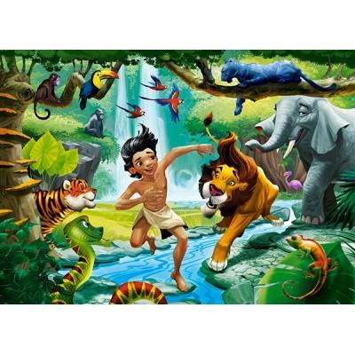 Puzzle Castorland-13487 Dschungelbuch