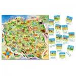 Puzzle  Castorland-142 Map of Poland