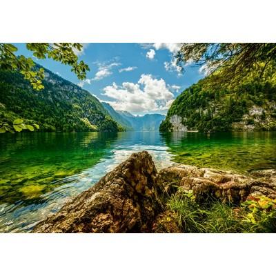 Puzzle Castorland-151417 Lake Koenigsee in Germany