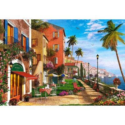 Puzzle  Castorland-151592 Dominic Davison: Themed Terrace