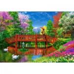 Puzzle  Castorland-151608 Dominic Davison: Fuji Lake