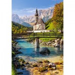 Puzzle  Castorland-151615 Ramsau bei Berchtesgaden