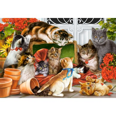 Puzzle Castorland-151639 Kittens Play Time