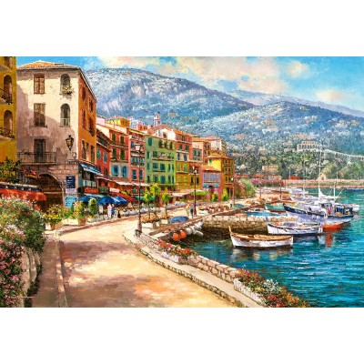 Puzzle Castorland-151745 The French Riviera