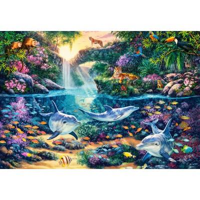 Puzzle Castorland-151875 Jungle Paradise