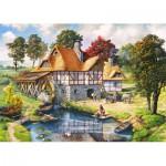 Puzzle  Castorland-200498 Die Mühle