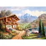 Puzzle  Castorland-200511 High Country Retreat