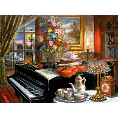Puzzle  Castorland-200641 Ensemble