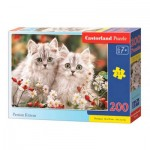Puzzle  Castorland-222131 Persian Kittens