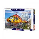Puzzle  Castorland-27248 Rettungshubschrauber